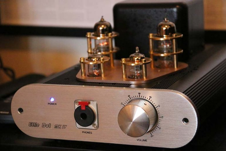 Little Dot MKIV headphone amp | The Master Switch