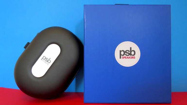 The carrying case and package are standard PSB design | The Master Switch