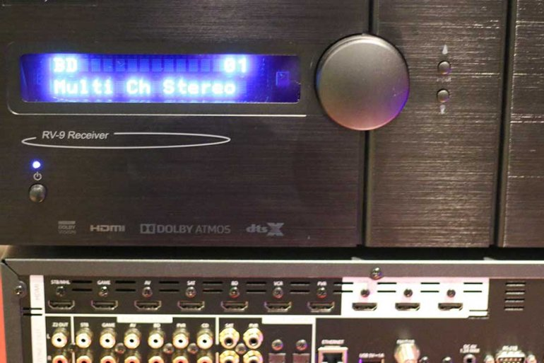 A/V Receiver | The Master Switch
