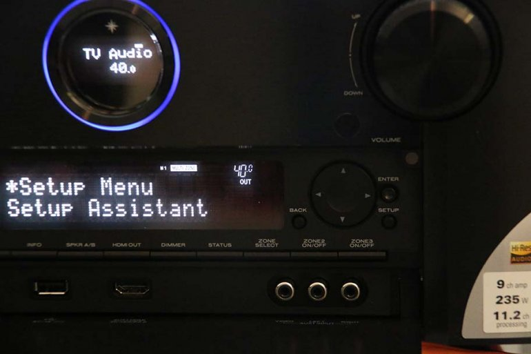Marantz SR7011 Interface | The Master Switch
