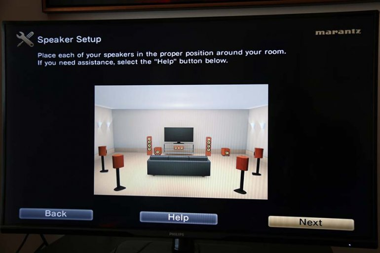 Marantz SR7011 Speaker Setup | The Master Switch