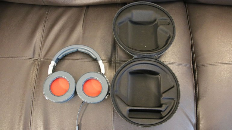 The case and the headphones complement each other nicely | The Master Switch