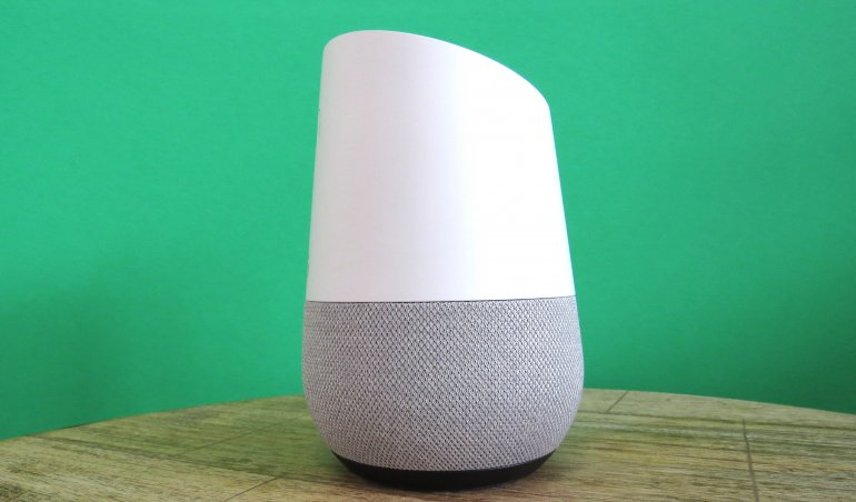 The Google Home is sleek and lightweight | The Master Switch
