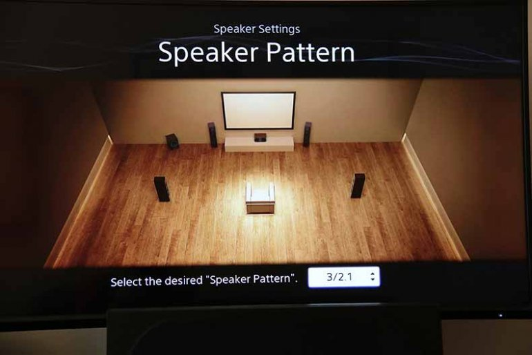 Sony STR-DN1060 Speaker Pattern | The Master Switch