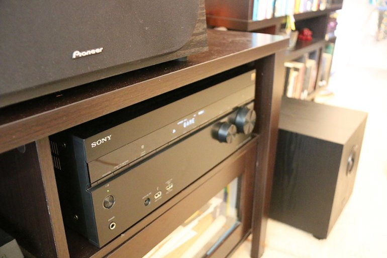 We tested the receiver with a Pioneer speaker system | The Master Switch