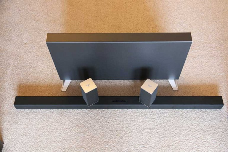 VIZIO SB4051 with subwoofer and satellite speakers | The Master Switch