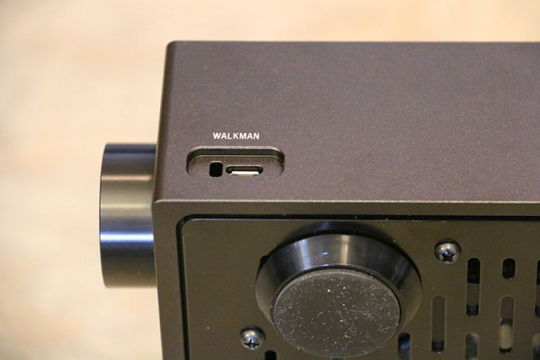 The Sony TA-ZH1ES comes with a dedicated Walkman port. Yay? | The Master Switch