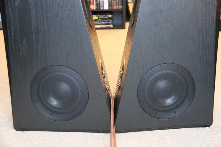A closer look at those monstrous woofers... | The Master Switch